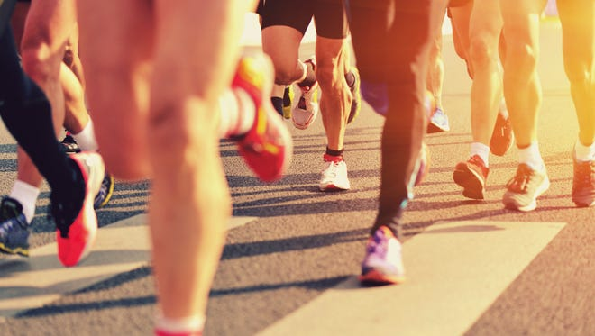 Running events are picking up this season.