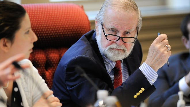 State Sen. Harris McDowell wants a committee to investigate how the state can save money by passing along public services to county governments.