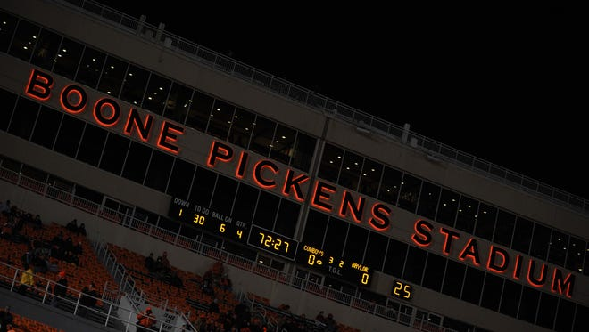 Arizona State University and Oklahoma State University have scheduled a future home/home series in football, Vice President for University Athletics Ray Anderson announced Tuesday.