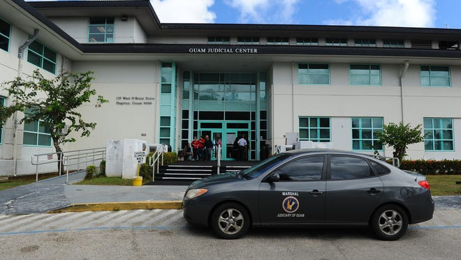 The Guam Judicial Center in Hagåtña is shown in this March 18, 2015, file photo.