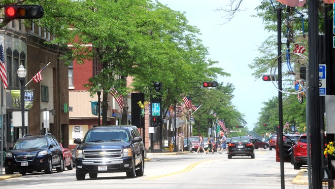 Doug Raflik/USA TODAY NETWORK-Wisconsin Greg Tehven provided inspiration for those in the Fond du Lac community to build a town they want to live in. Greg Tehven provided inspiration for those in the Fond du Lac community to build a town they want to live in.