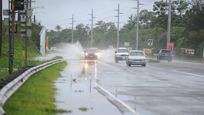 Expect rain and thunderstorms throughout Thursday, the National Weather Service stated.