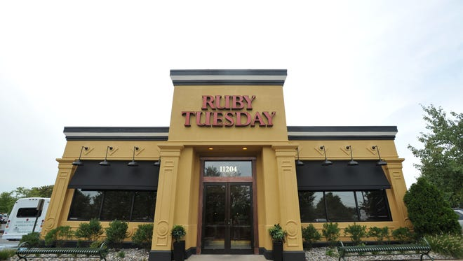 Ruby Tuesday on James Swart Court in Fairfax, VA.