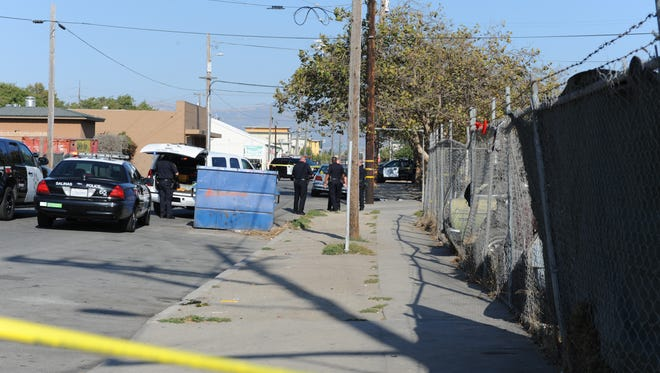 A 23-year-old man was shot in broad daylight in Chinatown this afternoon.