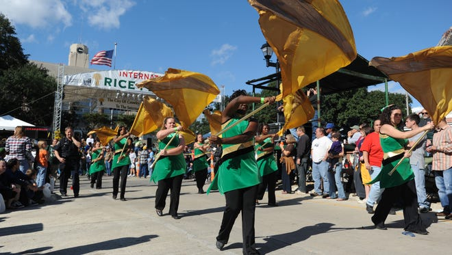 The International Rice Festival parade will roll through downtown Crowley during this weekend's festival.