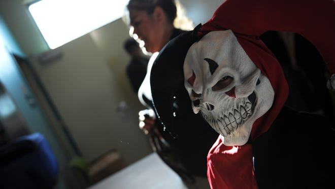 FILE PHOTO: Children and adults alike made the afternoon of Halloween a festive one at the Cesar Chavez Library in Salinas.
