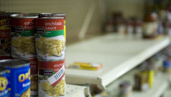 The Feed Our Neighbors campaign aims to help stock
