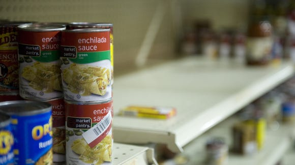 The Feed Our Neighbors campaign aims to help stock shelves at The Food Bank of South Jersey in Pennsauken.