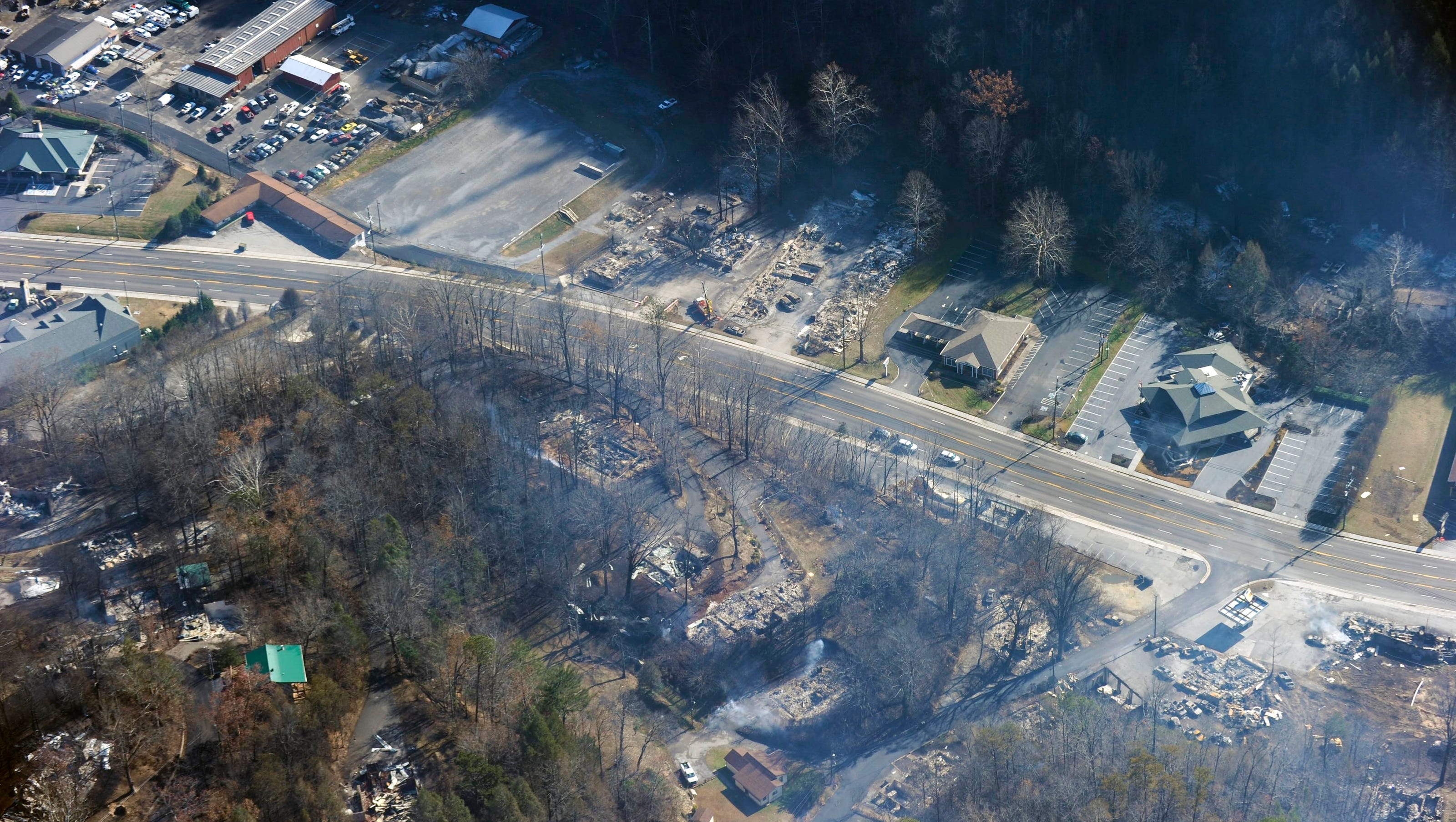 updated list: more structures damaged, destroyed by fire