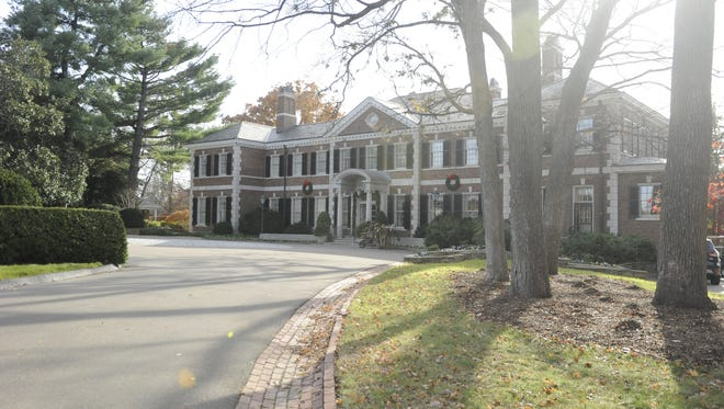 Tennessee Residence for the governor and family.