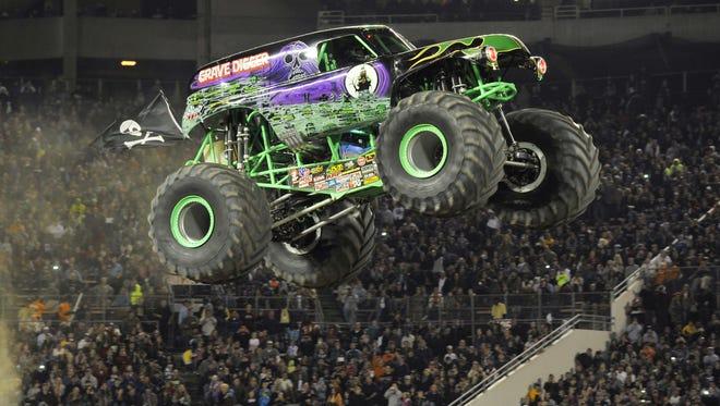 Gravedigger will be among the monster trucks taking part in Monster Jam 2017.