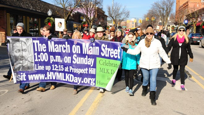 The Huron Valley MLK Day Committee is organizing several events related to Martin Luther King Jr. Day, including a Sunday march and Monday service project preparing meals.