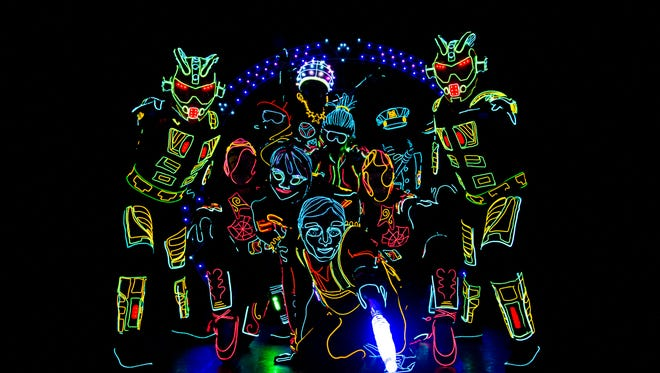 The H. Ric Luhrs Performing Arts Center will present iLUMINATE, on Feb. 8. iLuminate combines technology with entertainers who perform in the dark.