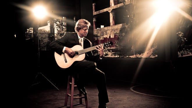 """Grammy Award-winning classical guitarist Jason Vieaux will perform the """"Concerto de Aranjuez"""" alongside the El Paso Symphony Orchestra on Friday and Saturday at the Plaza Theatre, Downtown."""