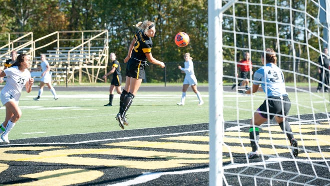 N.E.W. Lutheran alumna Jacqueline Mielke led the Michigan Tech women's soccer team with 23 points last season and set a program record with 30 career goals.