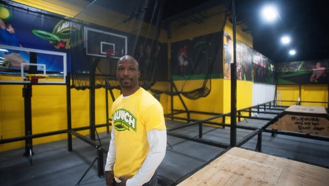 Jason Avant is preparing to open Launch, a trampoline park franchise in Deptford.