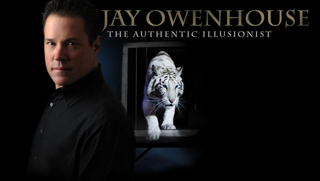 Jay Owenhouse, an escape artists and awarded illusionists, will Perform in Sheboygan March 3.
