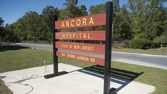 Ancora Psychiatric Hospital, Winslow Township.