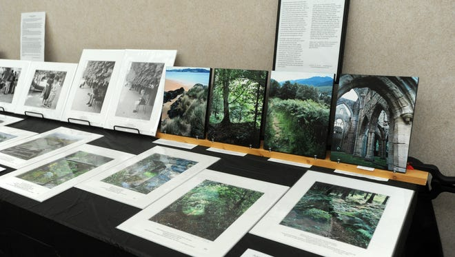 Photographs are also part of the art sale at Highland Church of Christ.