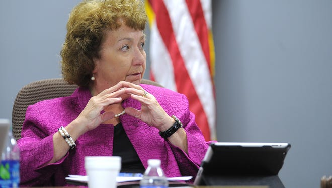 Metro Nashville Public Schools Board of Education Chair Anna Shepherd.