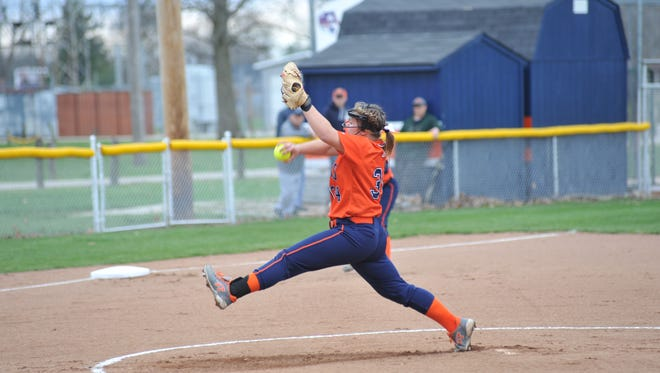 Madelyn Thomas is commanding on the mound and has helped Galion match its overall win total from last year just eight games into the season.