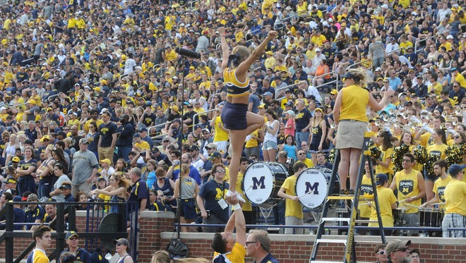 Michigan's athletic-department budget expects a $2.5-million surplus for fiscal year 2019.