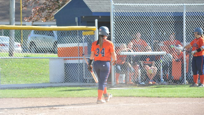 Madelyn Thomas will need to be dominant again in her pitching and hitting against the Lady Barons this week.