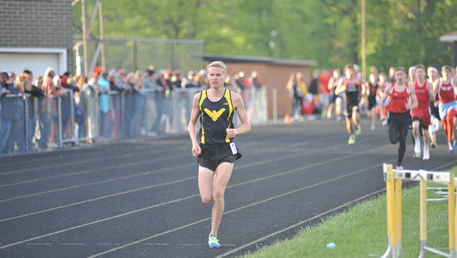 Chad Johnson broke the school and meet record in the 800M run at the N10 championship.
