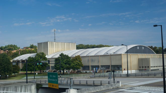 The Knoxville Civic Auditorium and Coliseum is pictured  in  a  News Sentinel file photo.