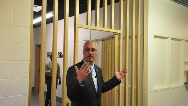 Davidson County Sheriff Daron Hall has been connected to Antioch businessman Ben Freeland for years. Freeland sits on Hall's advisory board on dealing with inmates with mental illness.