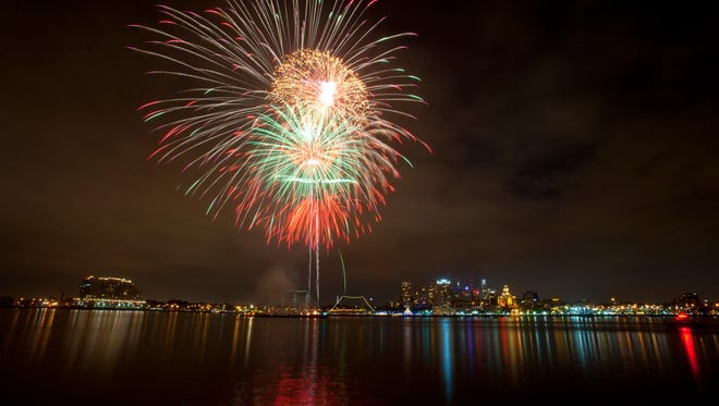 Camden County hosts the Freedom Festival Tuesday, July 4 from 5 to 10 p.m. at Wiggins Park on the Camden Waterfront.