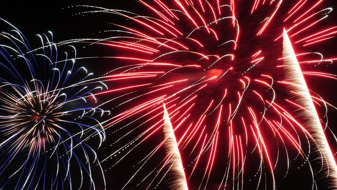 Fireworks will be featured at several Fourth of July celebrations in the area.