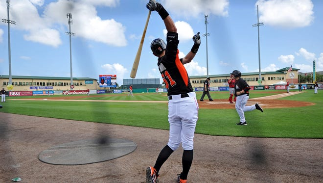 The Nationals tossed 14 innings of hitless baseball at the Marlins in a Gulf Coast League doubleheader Sunday.