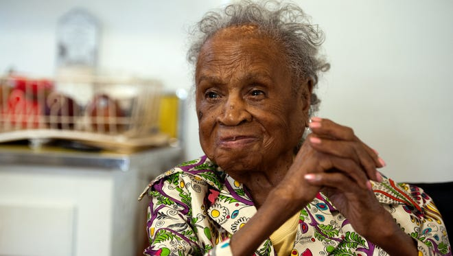 God and Johnnie Walker Blue Label were the keys to longevity, Agnes Fenton said in 2015, when she turned 110. Fenton died Thursday in her Englewood home at age 112.