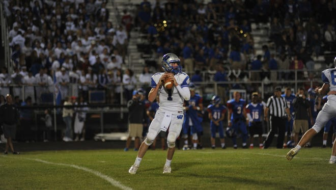 Wyatt Smith has filled the shoes of the departed Zach Hoffman easily these first three weeks becoming a true dual-threat quarterback like his predecessor.