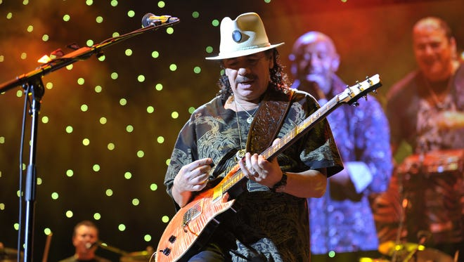 Carlos Santana is coming to Riverbend Music Center on August 10. Tickets go on sale Friday, Jan. 25.