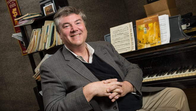 Composer Steven Aldredge won the National Choral Music Competition