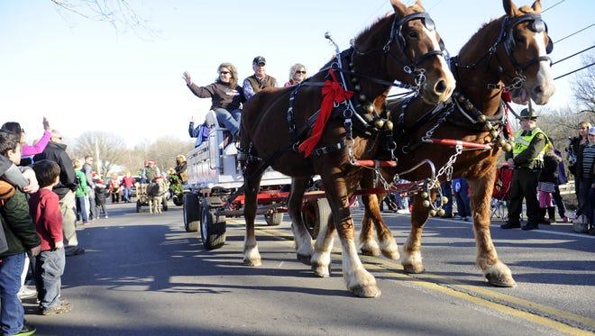 Leiper's Fork 2017 Christmas Parade will begin at 2 p.m. Saturday, Dec. 9.