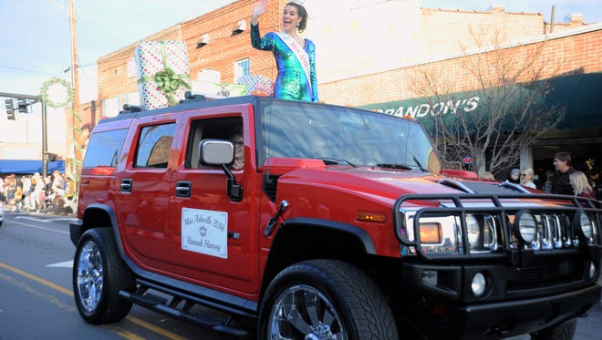 Downtown Black Mountain was filled with holiday cheer on Dec. 1 and 2 as the Black Mountain-Swannanoa Chamber of Commerce presented Holly Jolly and the Christmas parade.