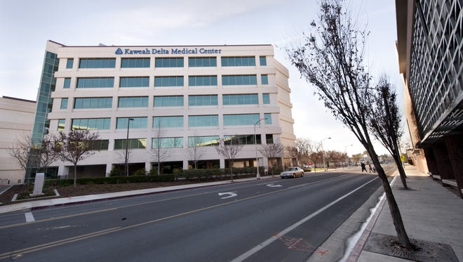 Views of Kaweah Delta Medical Center on Tuesday, January 26, 2016.