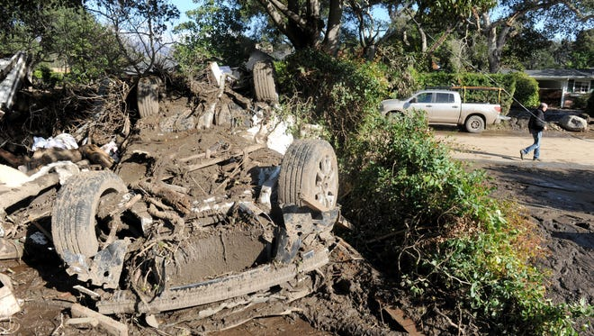 A torrent of debris caused almost two dozen deaths in Montecito in January.