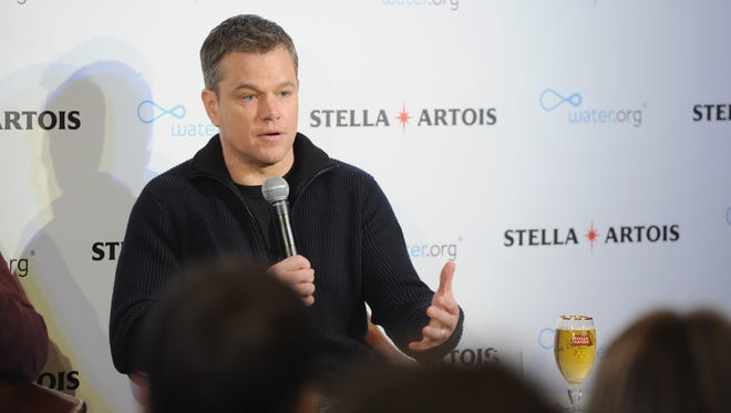 Matt Damon, co-founder of Water.org, in New York on Jan. 16, 2018, asking Americans to help end the global water crisis.