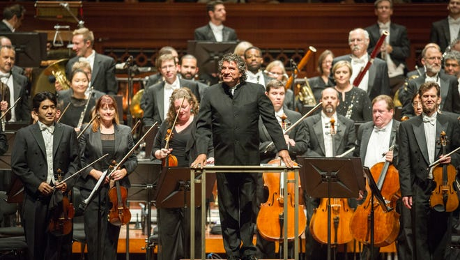 Giancarlo Guerrero remains at the helm of the Nashville Symphony for the 2018-19 season.