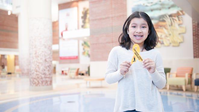 Cierra McCauley has a campaign to raise money for Riley Children's Foundation called #DancerBeatingCancer.