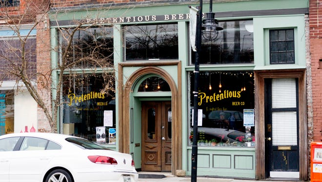 Pretentious Beer Co. in Old City in downtown Knoxville