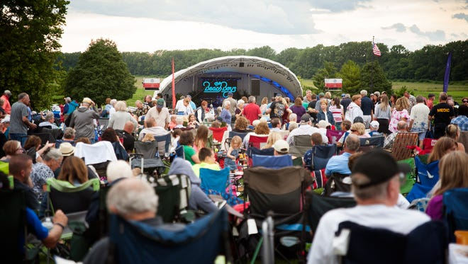 Kroger Symphony on the Prairie has announced its 2018 schedule.