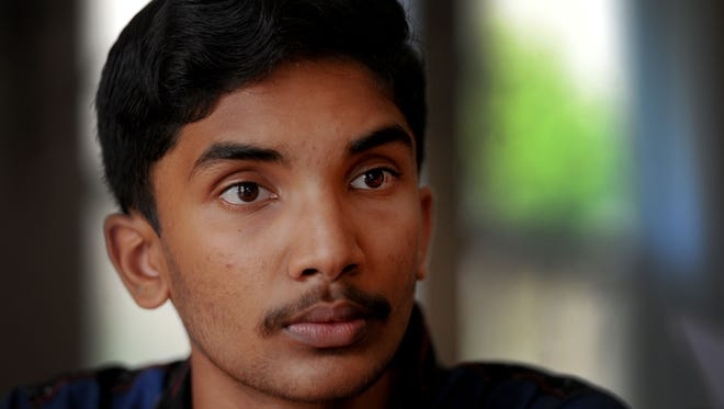 Rahul Naveen, an eighth-grader at Medea Creek Middle School in Oak Park, made it through the first two rounds at the Scripps National Spelling Bee in Washington, D.C.