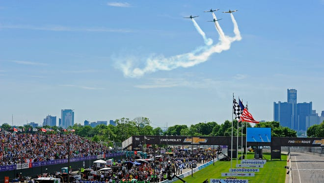 Fans love racing in the Motor City and the Grand Prix seems to bring out the best in Detroit year after year.