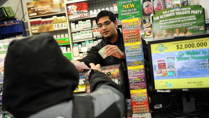 Bautista Ojeda, of Paterson, buys a Mega Millions ticket