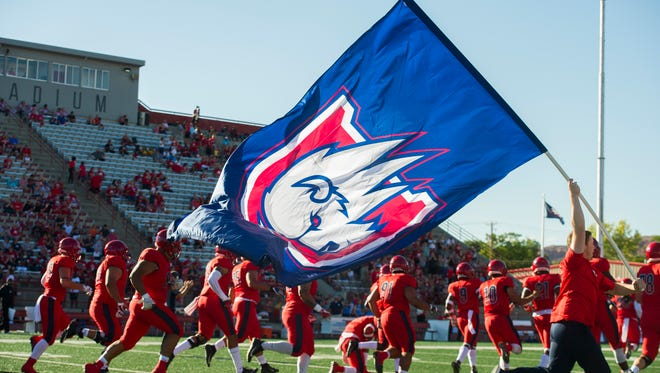 The Dixie State University Trailblazers take on Fort Lewis College at DSU Saturday, September 8, 2018.